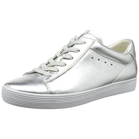 Gabor Shoes Damen Comfort Sneakers, Silber (Silber 10), 40 EU