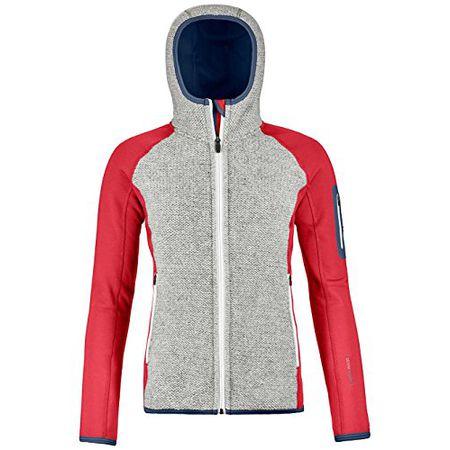 Damen Fleecejacke Ortovox Plus Classic Knit Hooded Fleecejacke b8776494f0
