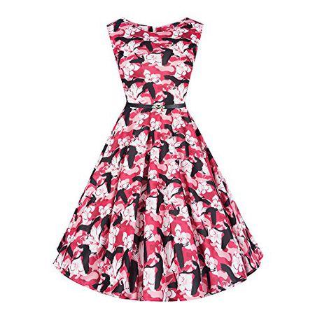 ACEVOG Damen Petticoat Crinoline mit breitem Gummiband T/üll Unterr/öcke f/ür Retro Vintage Rockabilly Kleid Partykleid Abendkleid Schwarz,Wei/ß,Grau