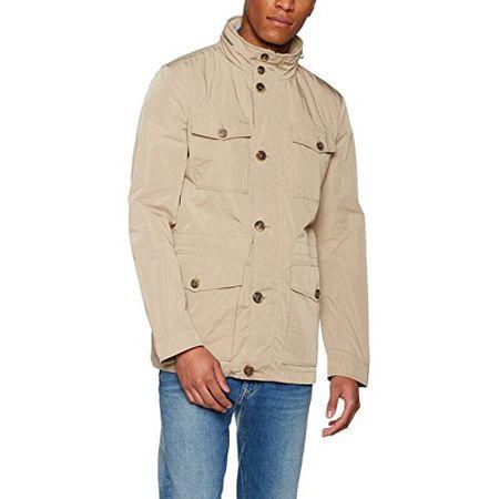 Geox Herren Jacke Man Jacket, (Cobblestone Beige F5079), X