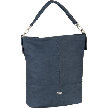 2408fd862b96e zwei Handtasche Mademoiselle M13 Nubuk Blue (8.5 Liter)