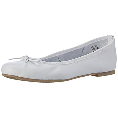 89cb33901858 Marco Tozzi Premio Damen 22117 Geschlossene Ballerinas, Weiß (White 100),  41 EU