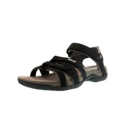 check out d474b b5505 Teva Tirra Leather W's Damen Sport- & Outdoor Sandalen, Schwarz (black  513), EU 36