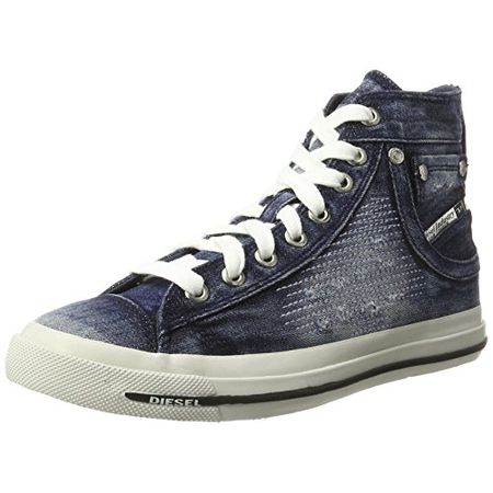 e408c2d4c0268e Diesel Damen Magnete Exposure IV Mid Hohe Sneaker