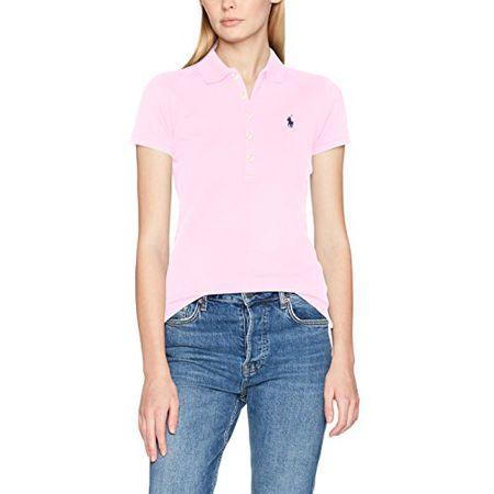 637ed0cf7f248e Polo Ralph Lauren Damen T-Shirt Stretch Mesh Julie Polo