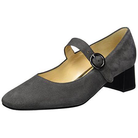 Gabor Shoes Damen Fashion Pumps, Grau (Dark Grey 49), 40.5