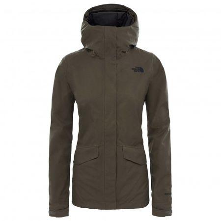 acecffcf26 The North Face - Women's All Terrain Zip-In Jacket Gr S braun/schwarz