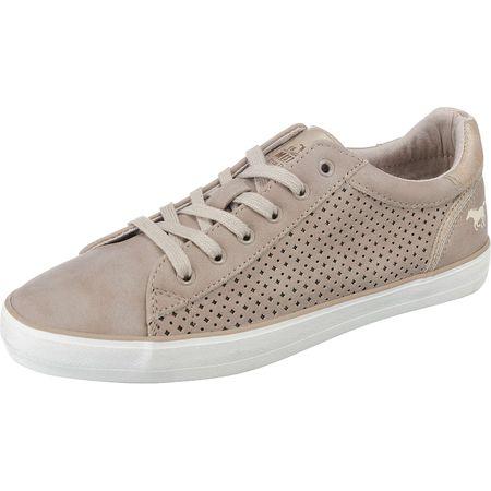 322ba9dd167a1c MUSTANG Sneakers Low taupe Damen