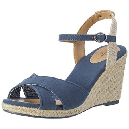 Pepe Jeans London Damen Shark Basic Sandalen, Blau (Sailor), 37 EU