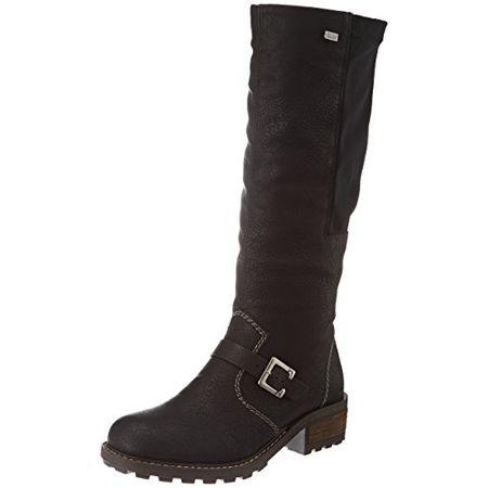 Rieker Damen Stiefel schwarz 94778 00