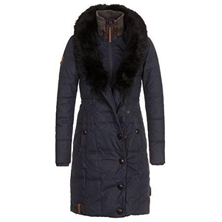 Naketano Female Jacket Grillmaster Patty II Dark Blue, XL