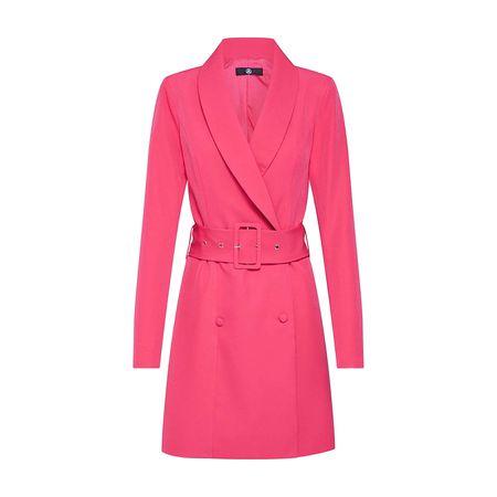 972bfe59c451dd Missguided Kleid TORTOISE SHELL BELT BLAZER DRESS Sommerkleider lila Damen