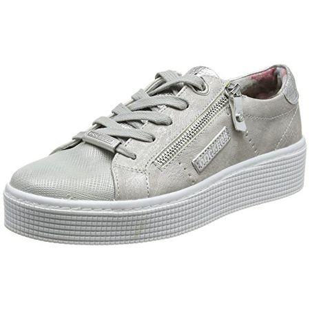 finest selection cf72f d9f2a Dockers by Gerli Damen 41AB212-680550 Sneaker, Braun (Silber 550), 41 EU