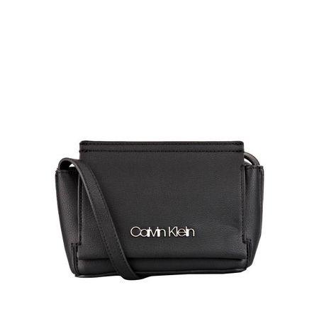 Calvin Klein Umhängetasche mit Nieten Dekor gold schwarz