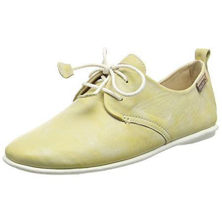 Pikolinos 917 7123KR Calabria Schuhe Damen Halbschuhe Schnürschuhe, Gelb (Yellow), 38 EU (5 UK)
