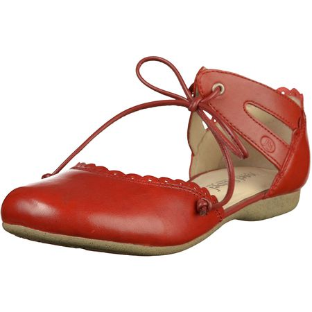 b490ab569e53 Josef Seibel Klassische Sandaletten rot Damen