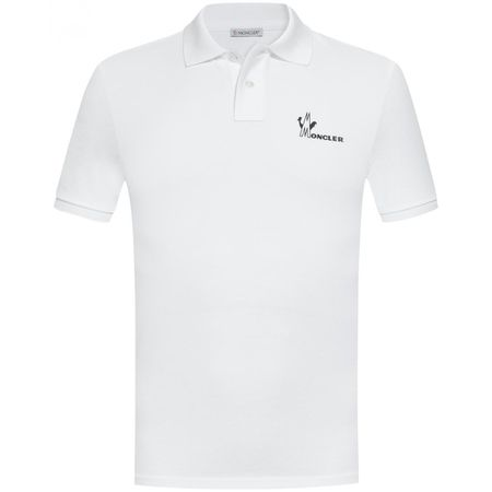 online store ea716 1db69 Moncler Polo-Shirt - Weiß (L, M, S, XL, XXL)