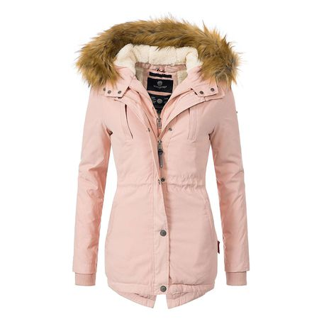Marikoo Wow 16in1 Jacke Damen Winter Jacke Parka Mantel Fell