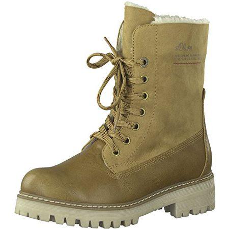 the latest 83a35 17b59 s.Oliver Damen 25465 Combat Boots, Grün (Khaki), 38 EU