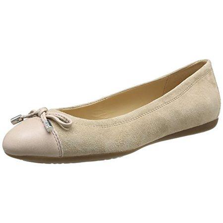 Geox Damenschuhe D7243A D Marva Sportliche, Elegante Damen Ballerina; Bootsschuh, Mokassin mit Schnürung