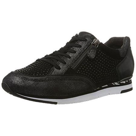 Gabor Shoes Damen Fashion Sneakers, Schwarz (Schwarz 17), 38.5 EU
