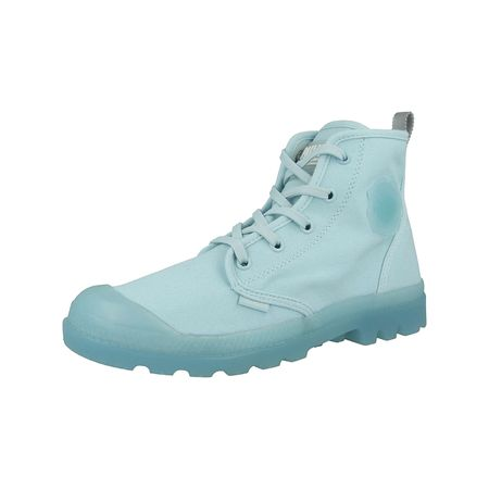 43201a077566ee Palladium Schuhe Pampalicious Schnürstiefeletten blau Damen