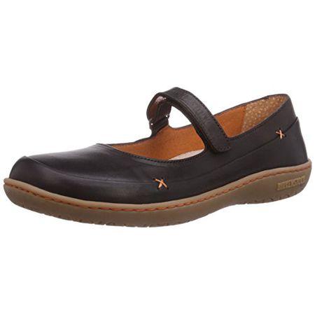 official photos 93afe 75893 BIRKENSTOCK Shoes Iona, Damen Mary Jane Halbschuhe, Braun (Dunkelbraun), 36  EU