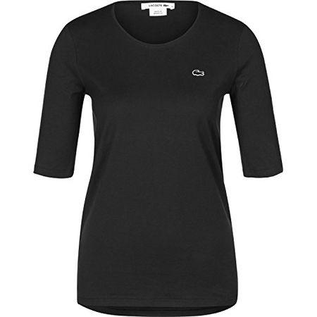 4fa574bcab06ca Lacoste TF8065 Klassisches Damen Basic T-Shirt