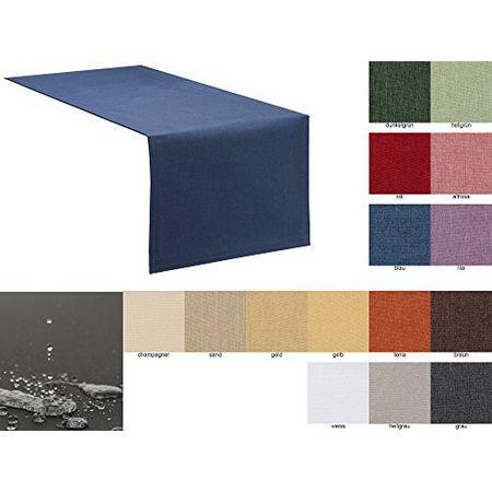 Tischläufer Tischband Accessoires Salinas natur//schwarz in 4 Größen