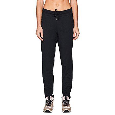 ESPRIT Sports Damen Sporthose 997EI1B803, Schwarz (Black 001), 44 (Herstellergröße: XXL)