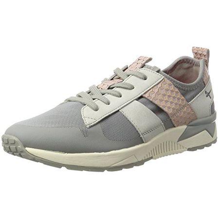 Tamaris Damen 23701 Sneakers, Grau (StoneRose 216), 42 EU