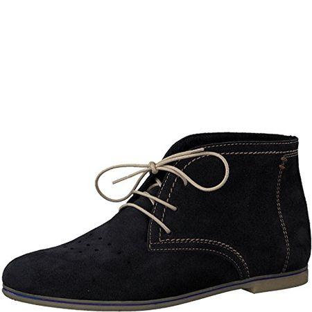 Tamaris 1 1 25208 20 Damen Stiefel, Boots, Stiefeletten für Die Modebewusste Frau Blau (Navy), EU 41