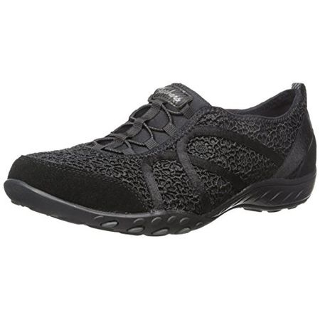 Skechers Breathe Easy Meadows, Damen Sneakers, Schwarz (BLK), 40 EU