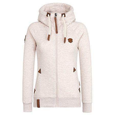Naketano Female Zipped Jacket Preiselbeeren Camembert Nasty