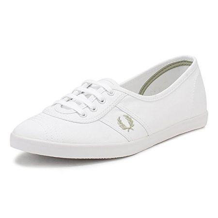 Fred Perry Aubrey Damen Sneaker Weiß