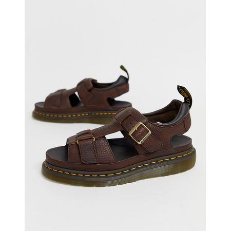Damen Schuhe Dr. Martens Made In England 3989 Budapester Rot