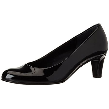Gabor Shoes Fashion, Damen Pumps, Schwarz (Schwarz +Absatz 77), 42 EU (8 UK)