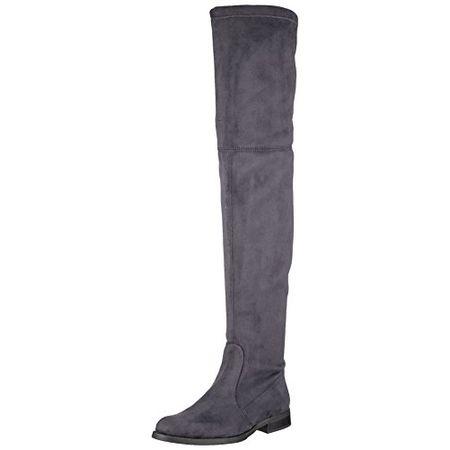 on sale 6531f 4d278 Buffalo London Damen 2870 Micro Strech Stiefel, Grau (Antracite 01), 37 EU