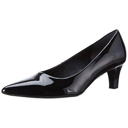 Gabor Shoes 41.250 Damen Pumps, Schwarz (77 Schwarz (+Absatz)), 37.5 EU