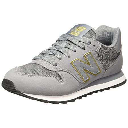 New Balance Damen GW500 Sneaker, Grau (GreygoldGW500GKG), 41.5 EU