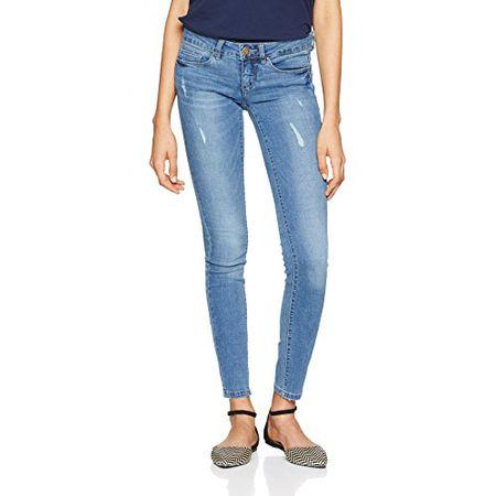 0c795dbea6dd ONLY 15129017 Damen Onlcoral SL SK Dnm Jeans, Blau (Medium Blue Denim  Medium Blue