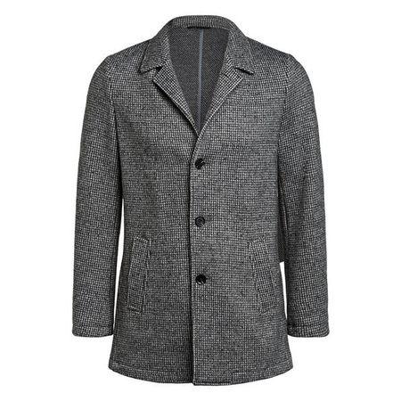 Woll Gr34 Eleganter Mix Damen Mantel Rosalie Schwarz MILESTONE 46 Wollmantel Tailliert Stehkragen 8nOPk0w