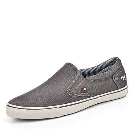 Mustang 4101 301 Schuhe Herren Schnürschuhe Sneaker Canvas