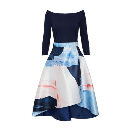 3f56d530ad2 Coast Kleid  Marini Chloi  nachtblau   mischfarben