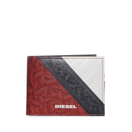 e6ea1e267b910 Diesel Geldbörse in rot für Herren