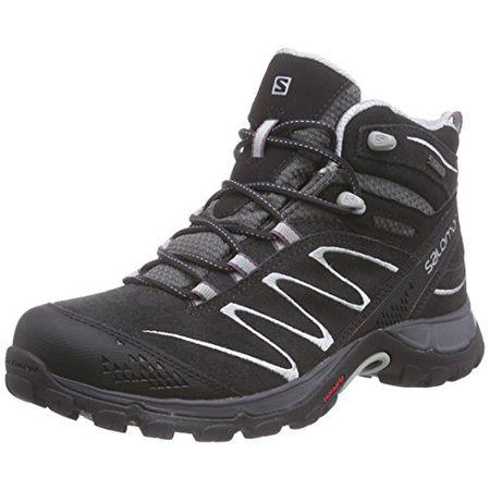 Salomon Ellipse Mid LTR GTX, Damen Trekking & Wanderstiefel, Schwarz (AsphaltDark CloudLight Onix), 38 EU (5 Damen UK)