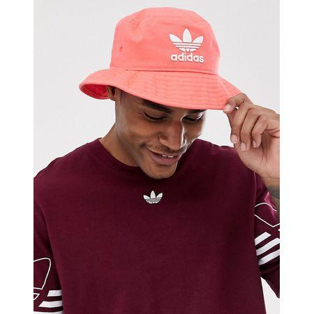 6b3b38d9e05b5 adidas Originals - Fischerhut mit Logo in Rot - Rot