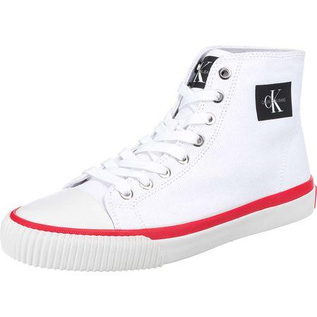 new concept a9299 acb1a Calvin Klein Isidora Sneakers High weiß Damen