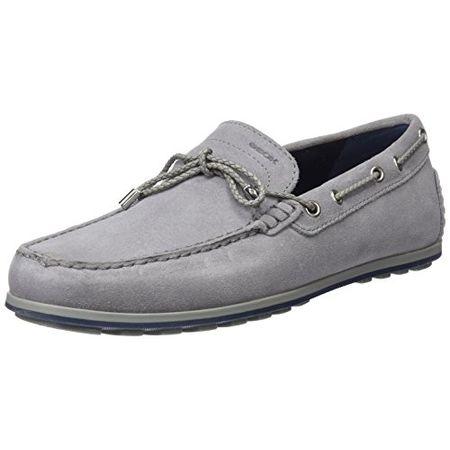 Geox Snake Mokassin Schuhe grau anthracite kaufen