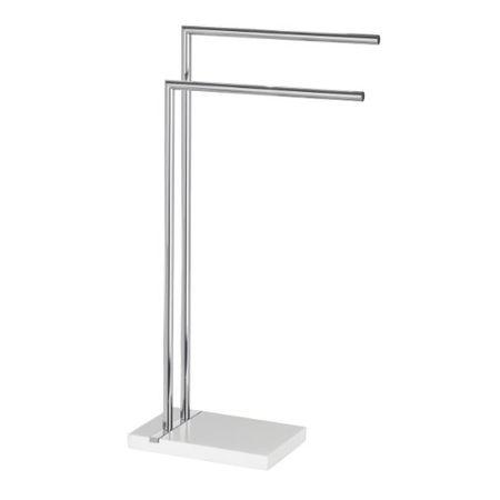 Wenko 22509100 Handtuchst/änder Viva Kleiderst/änder wei/ß Stahl 41 x 50.5 x 99 cm